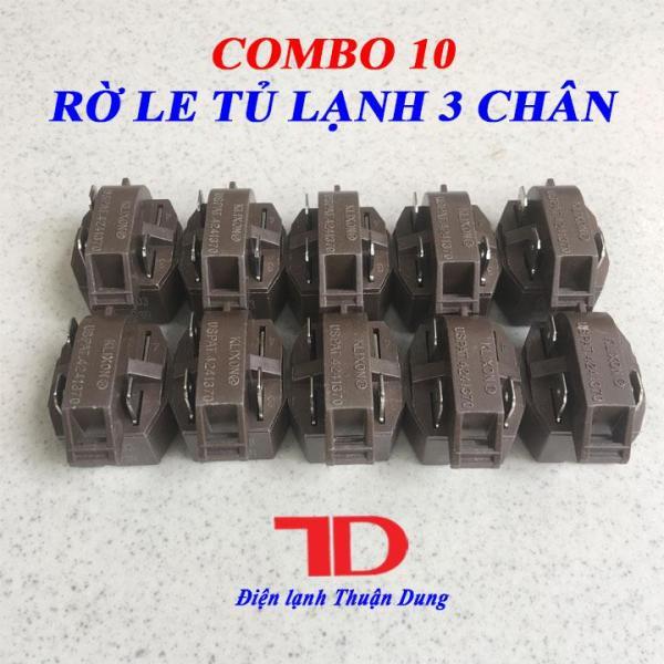 COMBO 10 Rờ Le Khởi Động Block Tủ Lạnh 3 chân CTP