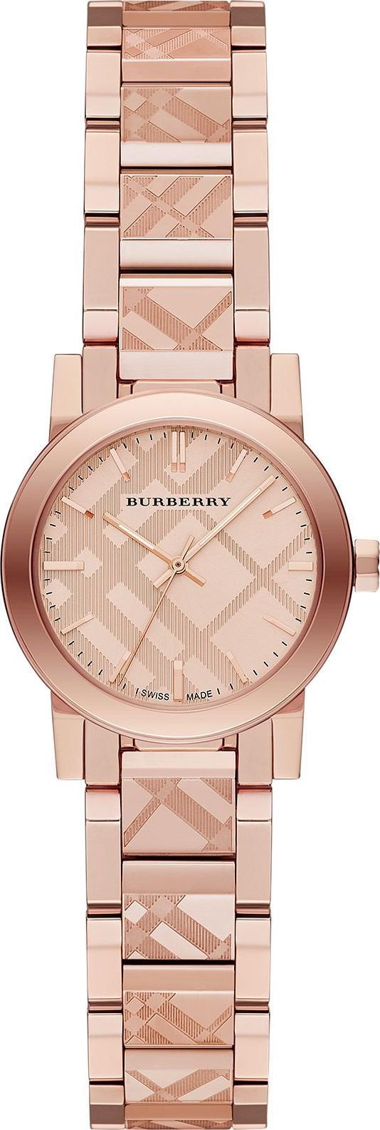 Đồng hồ nữ thời trang burberry9146 the city rose gold tone - dây thép không gỉ szie 28mm - fullbox bán chạy