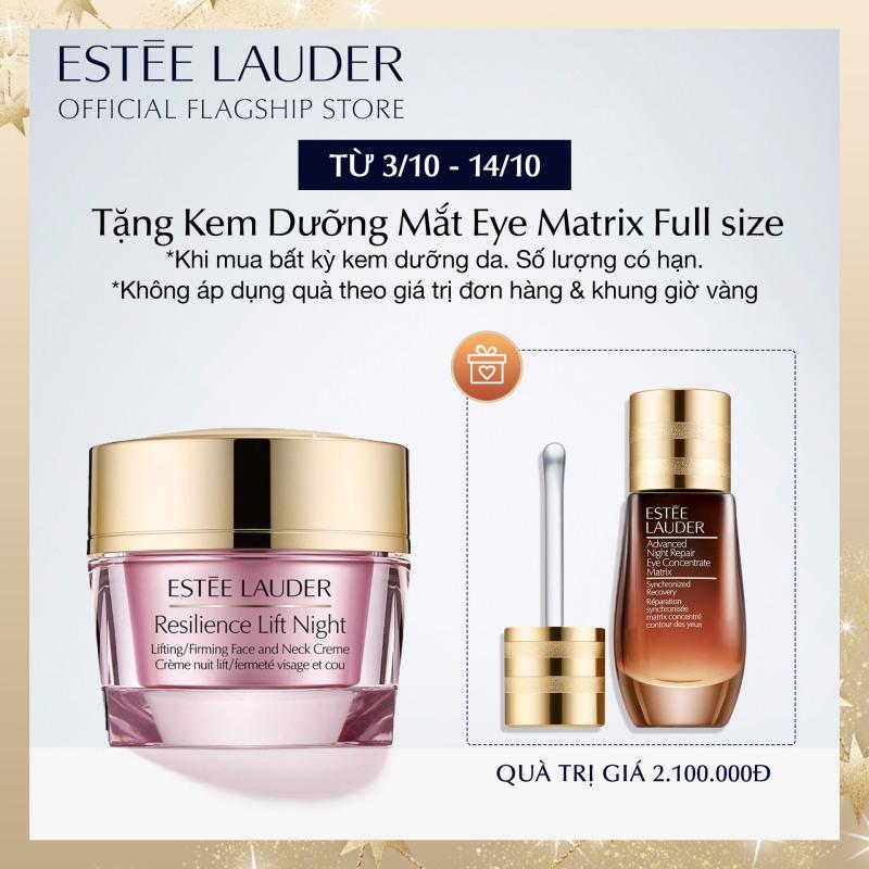 Kem dưỡng ẩm ban đêm nâng da cho vùng mặt và cổ Estee Lauder Resilience Lift Night Firming/Sculpting Face and Neck Crème 50ml giá rẻ