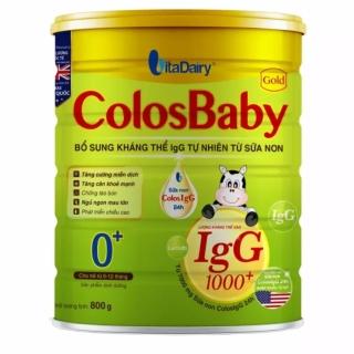 Sữa bột Colosbaby Gold 0+ 800g (Cam kết chính hãng) thumbnail