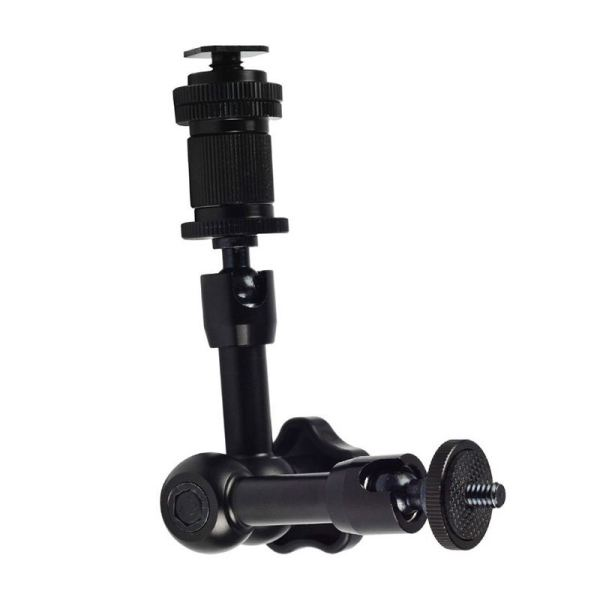 Giá 7 Magic Arm Articulating Friction Arm with Hot Shoe Mounts 1/4 Screw for DSLR Camera Rig, LCD Monitor, DV Monitor, LED Lights, Flash Lights, Microphones, DJI Osmo,Smart Phone and More