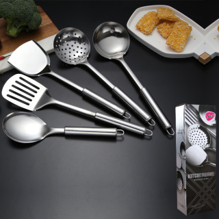 Set bộ đồ dùng nhà bếp bằng thép không gỉ 5 món inox tiện lợi cho nhà bếp thumbnail