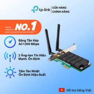 Bộ Chuyển Đổi Wifi TP-Link Archer T4E PCI Express Băng Tần kép Chuẩn AC 1200Mbps Kết nối 2 ăng ten - Hãng phân phối chính thức