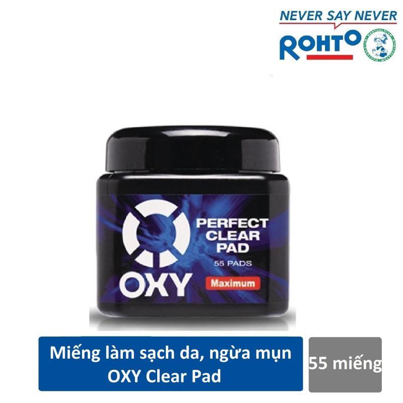 Miếng làm sạch da mặt ngăn ngừa mụn Oxy Perfect Clear Pad 55 miếng giá rẻ