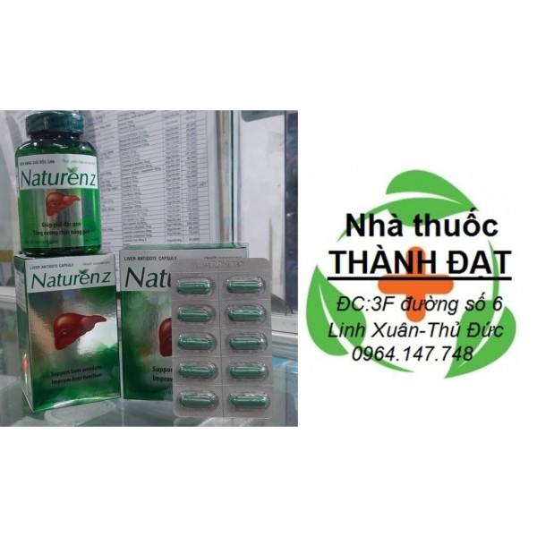 Naturen z hỗ trợ giải độc gan naturenz có tác dụng tăng cường thải độc, phục hồi chức năng gan, trợ tiêu hóa