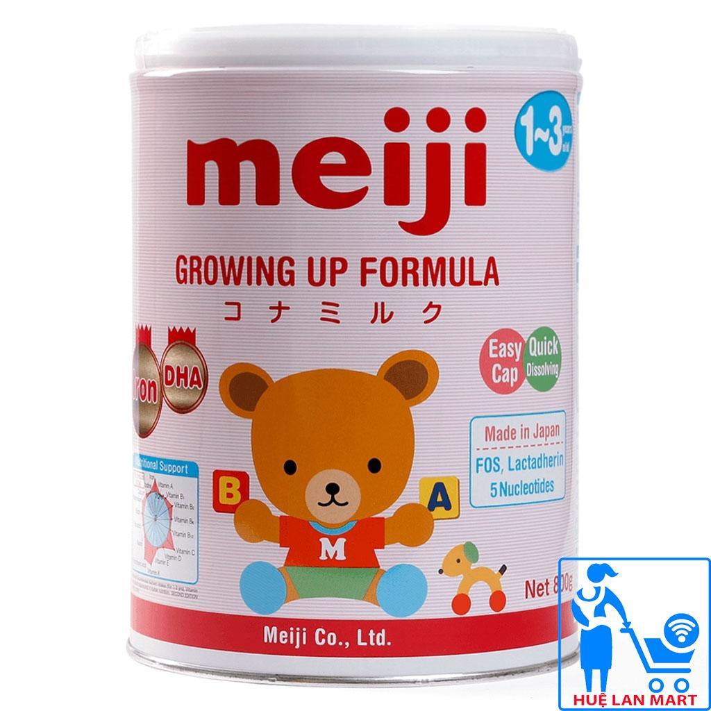 Sữa Bột Meiji 1-3 Growing Up Formula Hộp 800g (Cho...