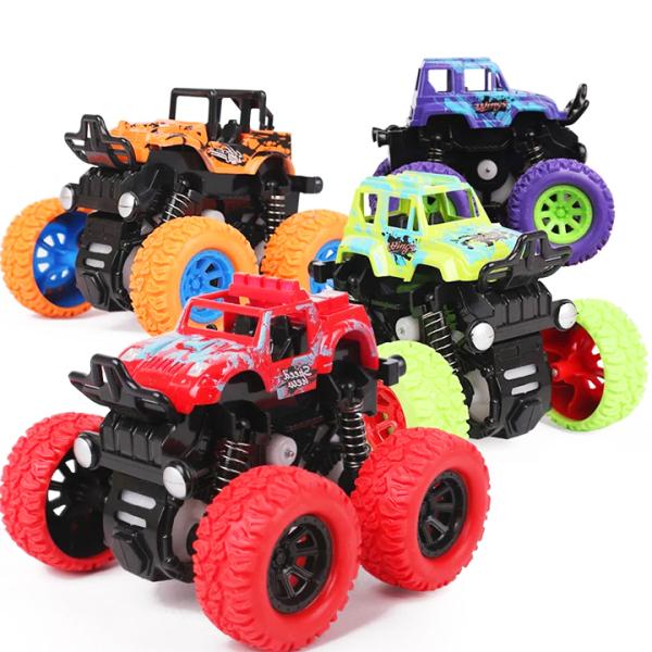 Xe đồ chơi cho bé trai, xe ô tô bánh đà vượt địa hình cho trẻ em nhào lộn 360 độ chạy đà cực mạnh bằng nhựa nguyên sinh ABS BBShine – DC056