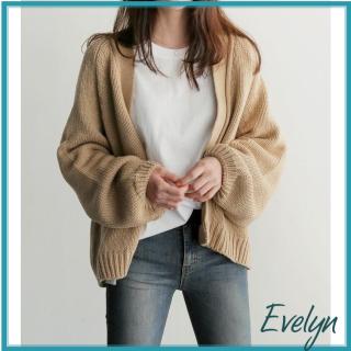 Áo khoác cardigan nữ Evelyn len dày thu đông không cúc đẹp Ev68 thumbnail