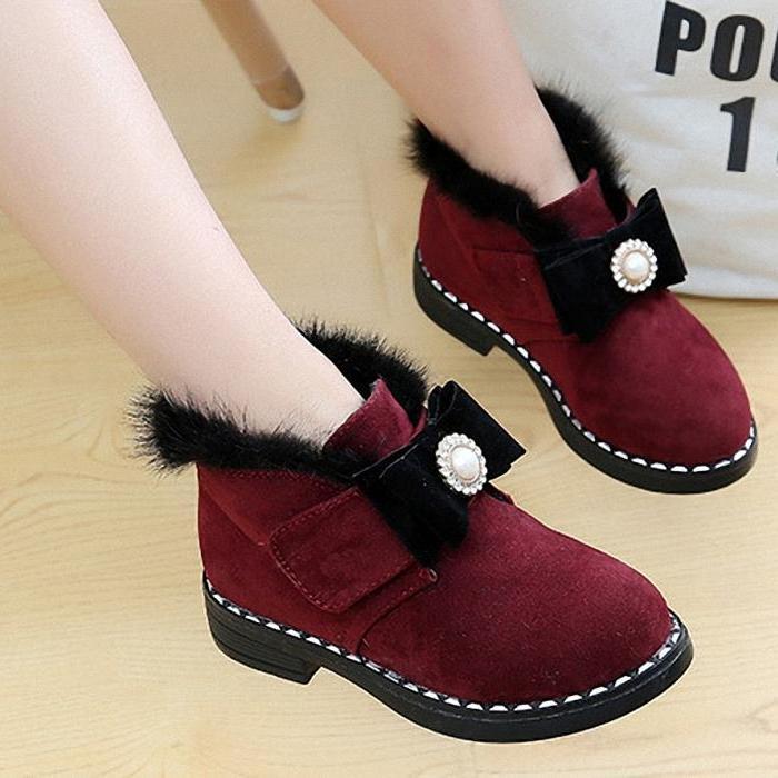 Giá bán Giày Boot {Cổ thấp } cho bé gái phong cách hàn quốc - BGG09