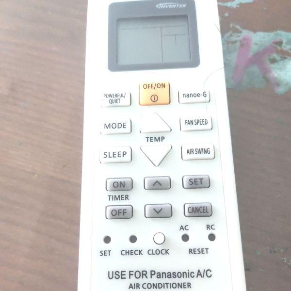 Bảng giá Remote điều khiển điều hoà không khí Panasonic Inverter loại nhỏ