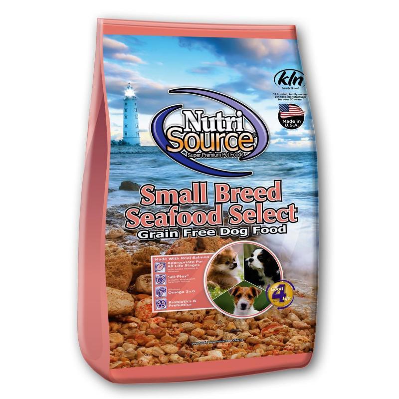 Thức ăn cho chó NutriSource Small Breed Seafood Grain Free
