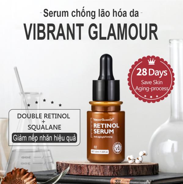 Serum Chống Nếp Nhăn Vibrant Glamour Mờ Thâm Chống Lão Hóa Da Anti-aing Serum Anti-Wrinkle 30ml