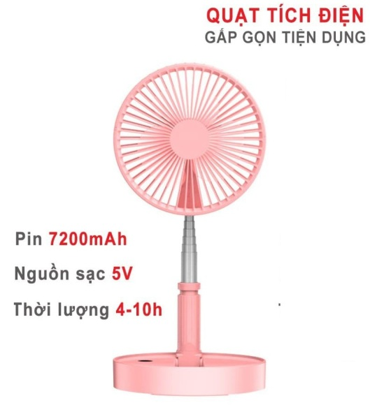 QUẠT TÍCH ĐIỆN ĐA NĂNG P9 PIN SẠC 7.200MAH