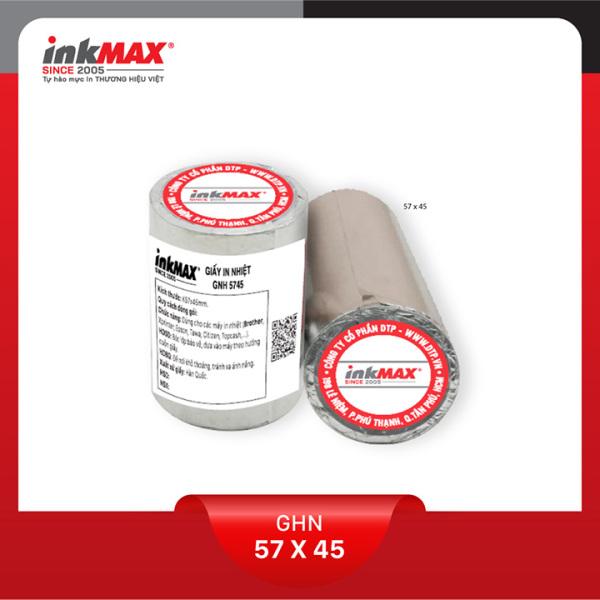 Mua ( Combo 50 cuộn ) Giấy in nhiệt K57x45 - Giấy in BILL - Giấy in hóa đơn - Hàng chính hãng inkMAX