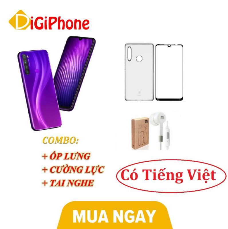 Xiaomi Redmi Note 8 Ram 64GB 4GB + Ốp lưng + Cường lực + Tai nghe (Có Tiếng Việt)- Hàng nhập khẩu