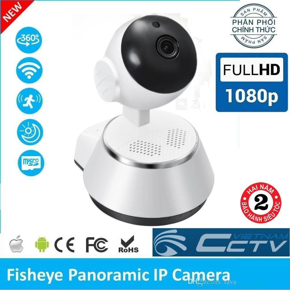 (Bảo Hành 24 tháng) Camera Ip Wifi V380 Plus xoay 360 độ , camera FullHD 2.0Mp x 1920 x1080p , ghi âm ghi hình đàm thoại 2 chiều , hỗ trợ quan sát ngày đêm