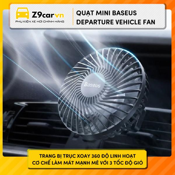 Quạt mini Baseus Departure Vehicle Fan