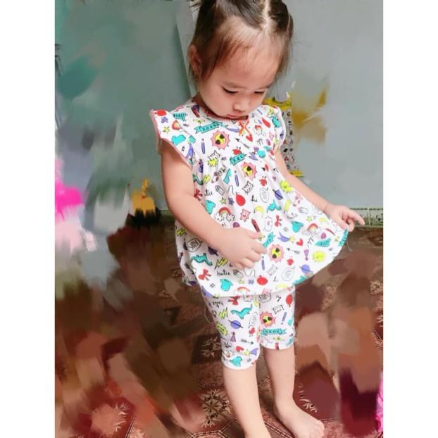 Combo 3 bộ mặc nhà cho bé gái, sản phẩm đang được săn đón, chất lượng đảm bảo và cam kết hàng đúng như mô tả giá rẻ