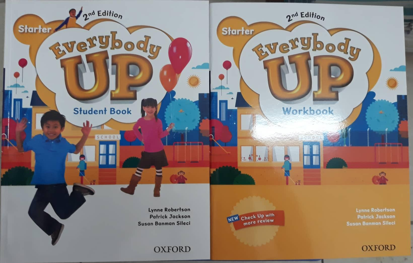Mua Trọn bộ sách Everybody Up Starter 2nd edition (2 cuốn Student book + Workbook)