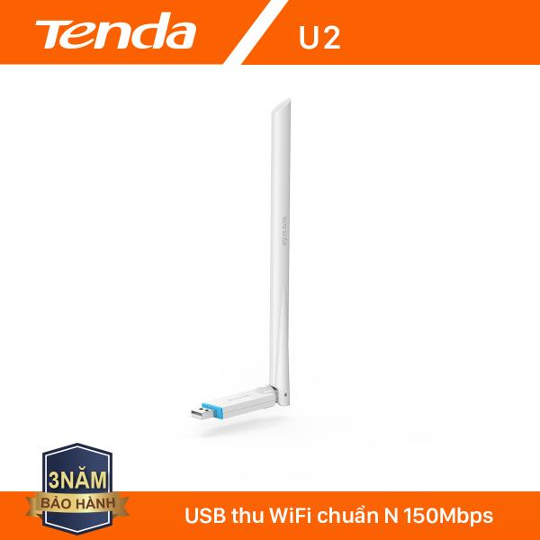 Bảng giá Tenda USB kết nối Wifi U2 tốc độ 150Mbps - Hãng phân phối chính thức Phong Vũ