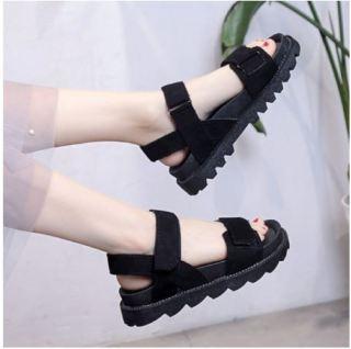 Giày Sandal đế bánh mì đế gai siêu hot sandal ulzzang thumbnail