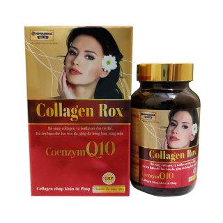 Collagen Rox làm sáng da căng mịn da, tăng cường hocmon tiết tố nữ thumbnail