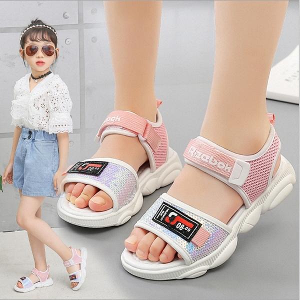 Dép sandal bé gái phong cách học xinh dành cho bé từ 3 -13 tuổi - SD89