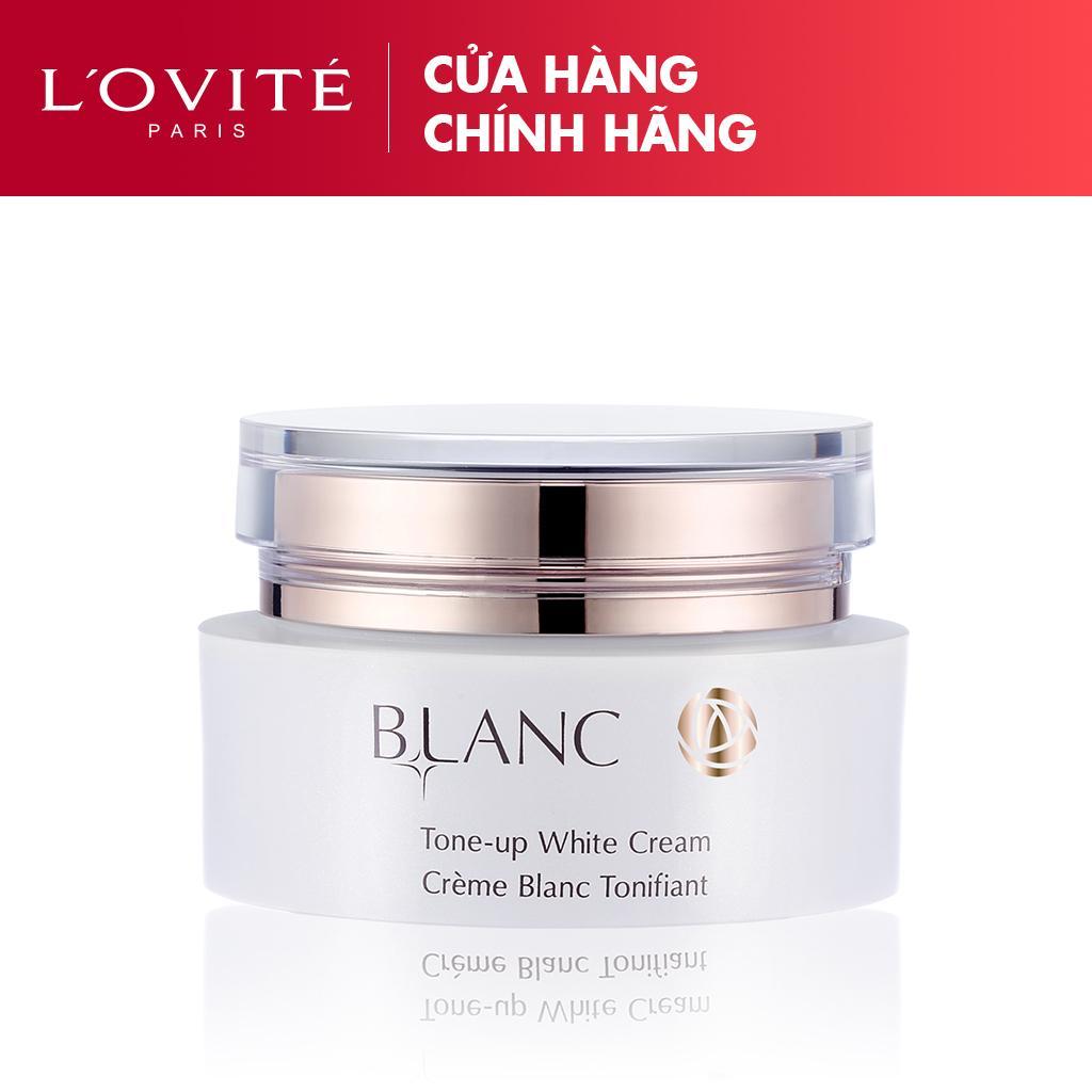 Kem Dưỡng Ngày - Nâng Tông Màu Da Blanc Tone Up Cream  L'ovité 50ml Giá Quá Tốt Phải Mua Ngay