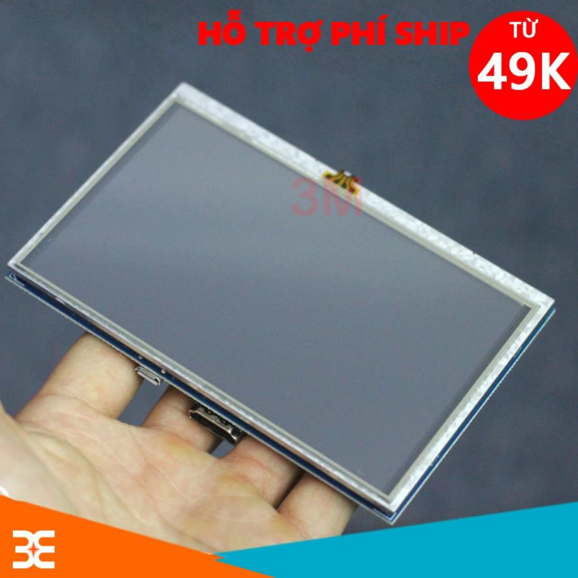 Màn Hình Raspberry 5Inch 800x480 Cảm Ứng Điện Dung ( Tặng Bút Cảm Ứng )