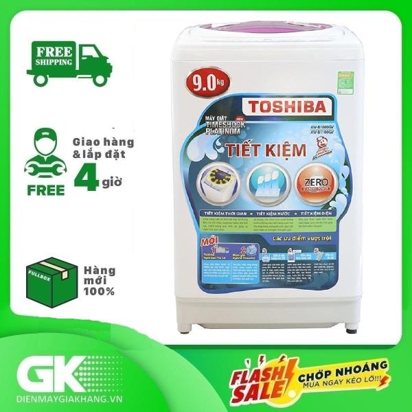 Bảng giá Máy giặt Toshiba 9kg AW-B1000GV WB, Tốc độ vắt 700 vòng/phút, xuất xứ Thái Lan - Bảo hành 24 tháng Điện máy Pico