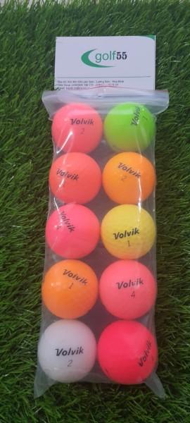 10 quả bóng golf  volvik độ mới 90 đến 99%