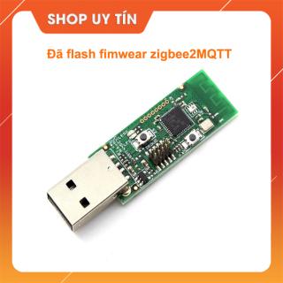 Mạch Thu Phát RF Zigbee CC2531 USB Dongle 2.4Ghz đã được flash fimwear zigbee2MQTT dành cho hass thumbnail