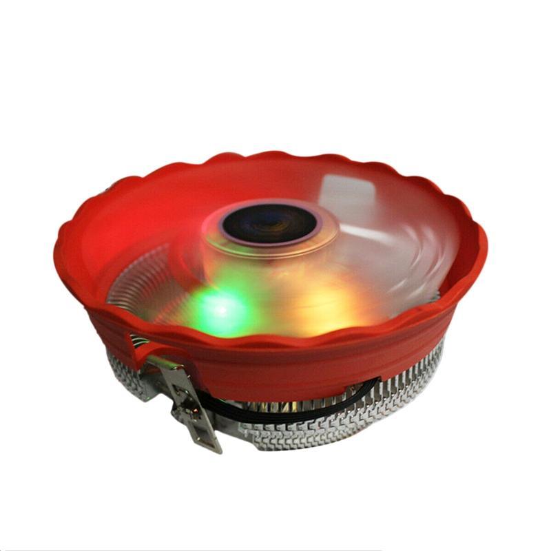 Giá Cpu Cooler 12Cm 3Pin Led Rgb Cooling Fan For Lga 775/1156/1155/1151/1150/Amd