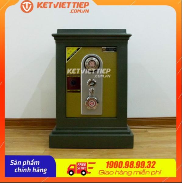 Két sắt Việt Tiệp đúc đặc KVT70KC-Công ty két sắt Việt Tiệp - Hãng phân phối trực tiếp