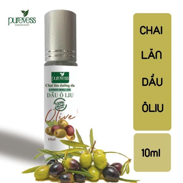 Chai Lăn Dầu Ô Liu PUREVESS ( 10ml ) | Giúp nuôi dưỡng & làm sạch da mặt, chăm sóc tóc.