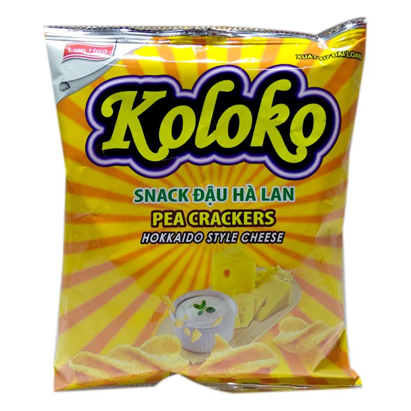 Snack Koloko đậu Hà Lan vị phô mai gói 57g