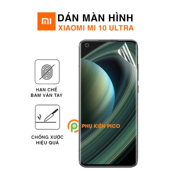 Dán màn hình Mi 10 Ultra PPF cao cấp dẻo trong suốt - Dán dẻo Xiaomi Mi 10 Ultra