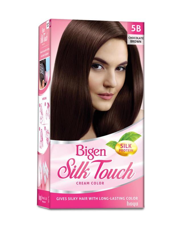 Thuốc nhuộm tóc phủ bạc Bigen Silk Touch Sắc Màu trẻ trung 80ml cao cấp