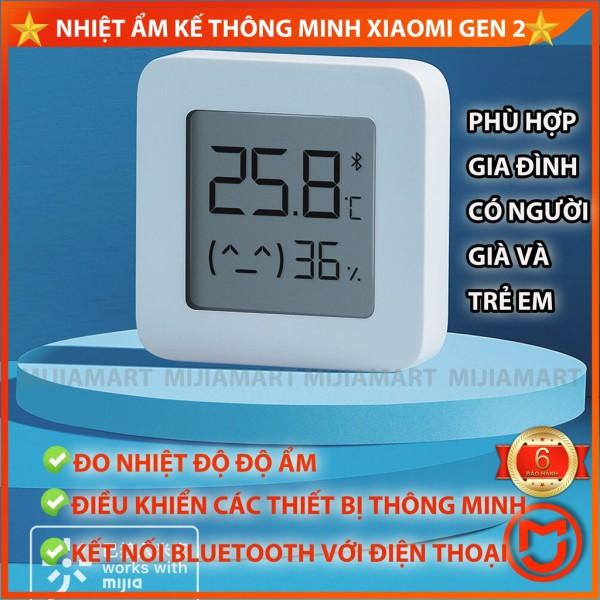 ✅ Nhiệt ẩm kế Xiaomi gen 2, nhiệt kế điện tử xiaomi, kết nối với điện thoại, điều khiển các thiết bị thông minh cao cấp