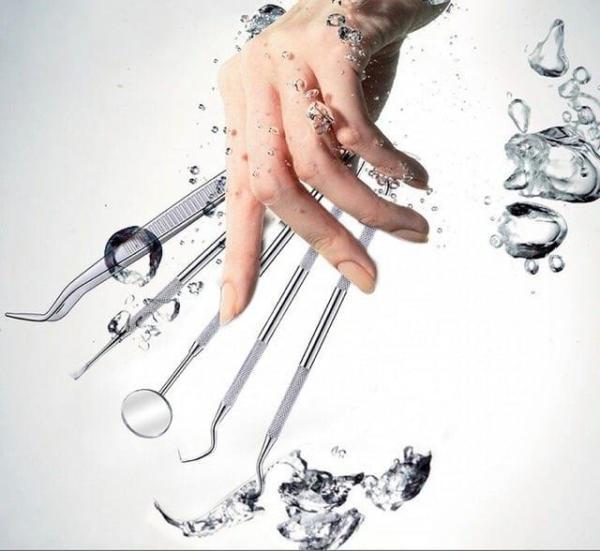 Bộ Dụng Cụ Nha Khoa Làm Sạch Cao Răng (5 Cái) giá rẻ