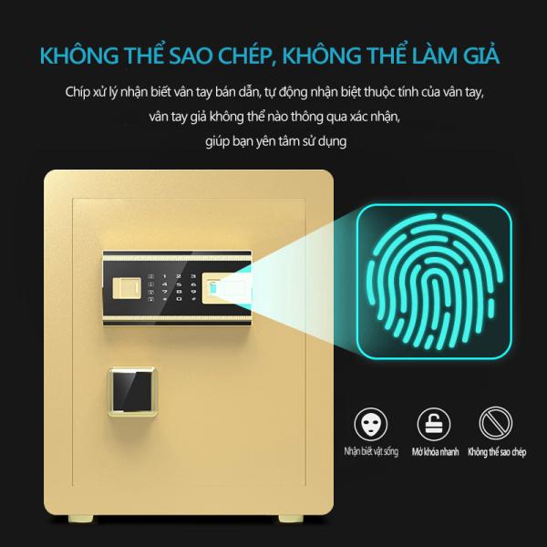 Két sắt an toàn mở khoá vân tay, mật mã, dùng cho văn phòng và gia đình