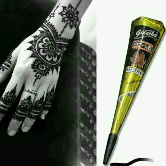 Bút vẽ henna màu đen chính hãng
