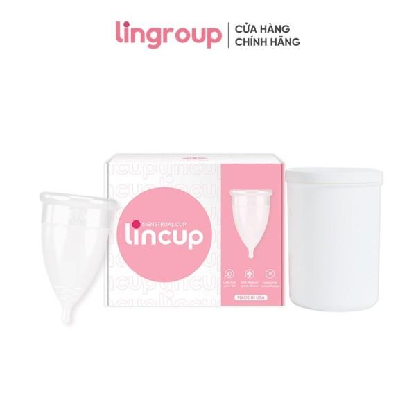 Cốc nguyệt san Lincup + cốc tiệt trùng chính hãng giá rẻ