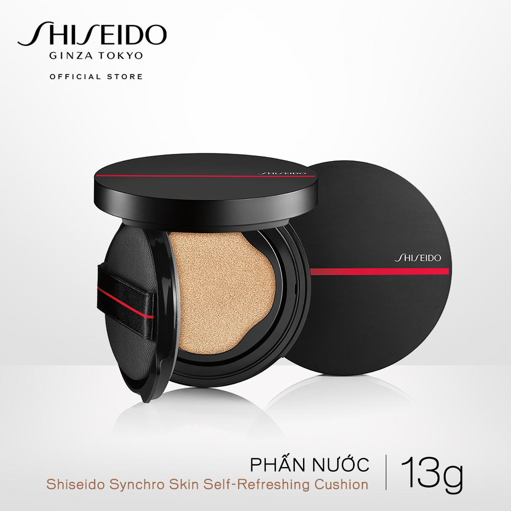 Phấn nước Shiseido Synchro Skin Self-Refreshing Cushion (Refill + Case)