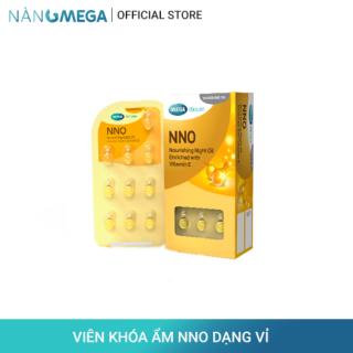 Viên khóa ẩm NNO dạng vỉ 30 viên chiết xuất dầu jojoba & Vitamin E thiên nhiên giúp tăng đàn hồi và săn chắc da thumbnail