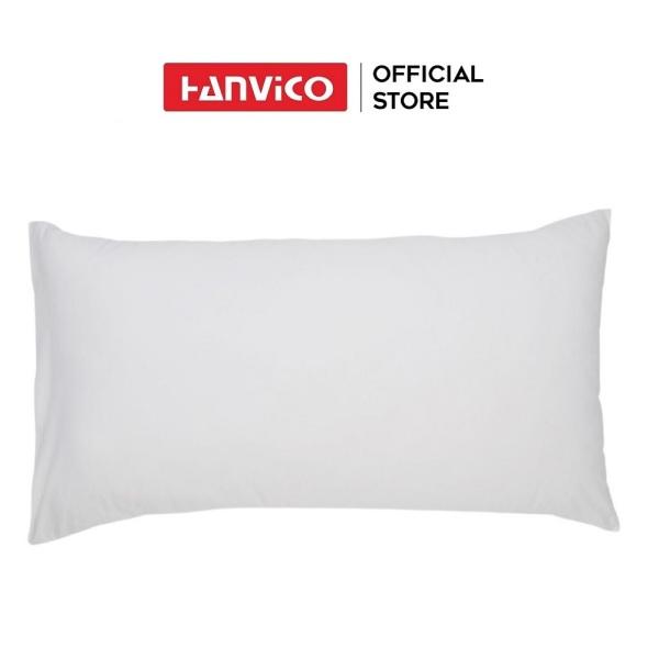 Vỏ gối HANVICO T400 trắng trơn