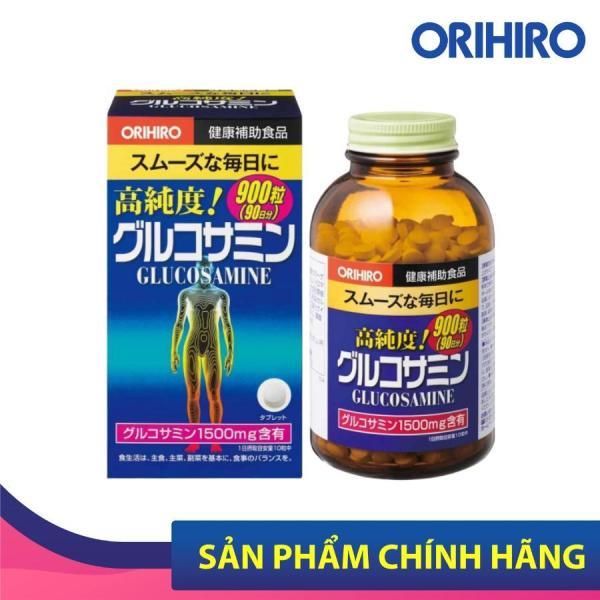 Viên uống bổ sung Glucosamine Orihiro Nhật Bản hỗ trợ xương khớp hiệu quả, 900 viên/hộp nhập khẩu