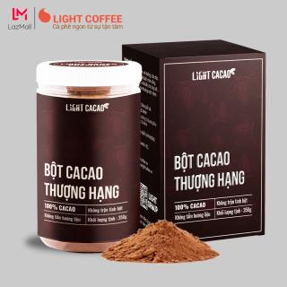 Bột cacao Thượng hạng Premium , nguyên chất không đường, tốt cho bé Light Cacao - Hũ 350g Cacao Premium thumbnail