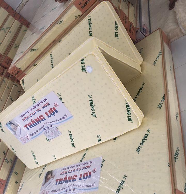 ⭐Nệm 1m8 x 2m x 10cm Cao Su Non Thắng Lợi Gấp 3: Mua bán trực tuyến Nệm với  giá rẻ | Lazada.vn