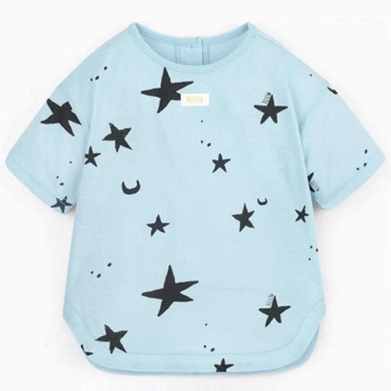 Nơi bán Set đồ bộ in hình trăng và sao cho cả bé trai/bé gái